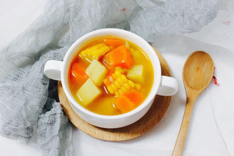 2 cách nấu canh rau củ chay ngọt lành, thanh mát